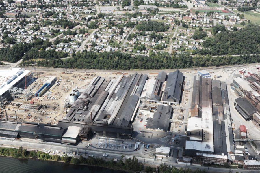 Stahlwerk Allegheny, USA