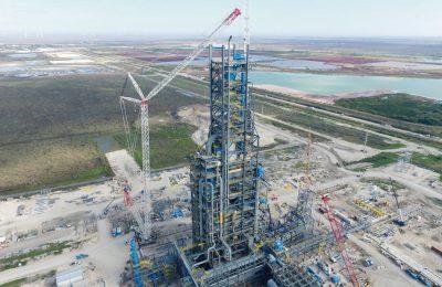 Stahlwerk Corpus Christi, Texas 2