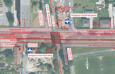 Umplanung Eisenbahnkreuzungen Graz