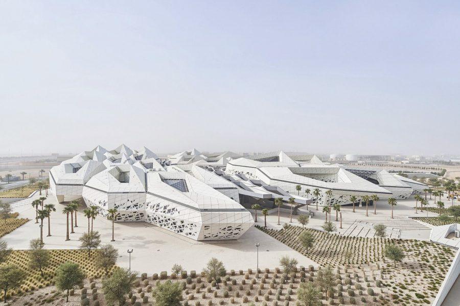 Erdölforschungszentrum Kapsarc, Saudi Arabien 6