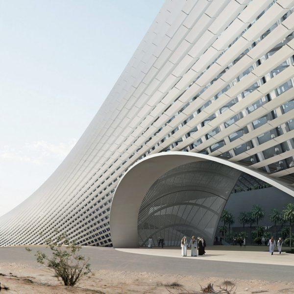 Erdölforschungszentrum Kapsarc, Saudi Arabien 5