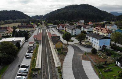 GKB Graz-Köflacher Bahn, 3 P&R-Anlagen 4