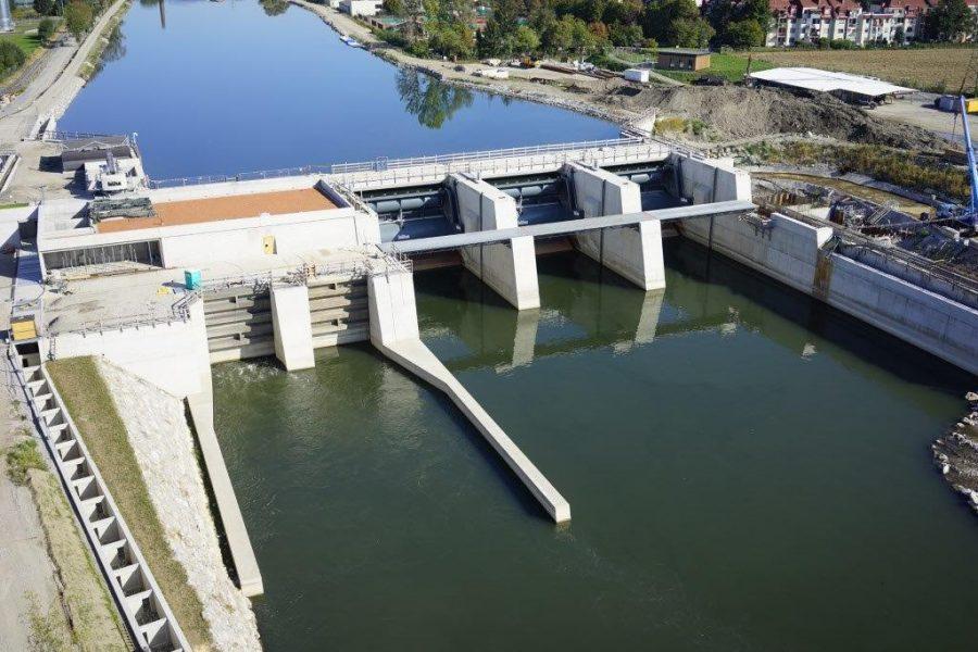 Foto des Murkraftwerk
