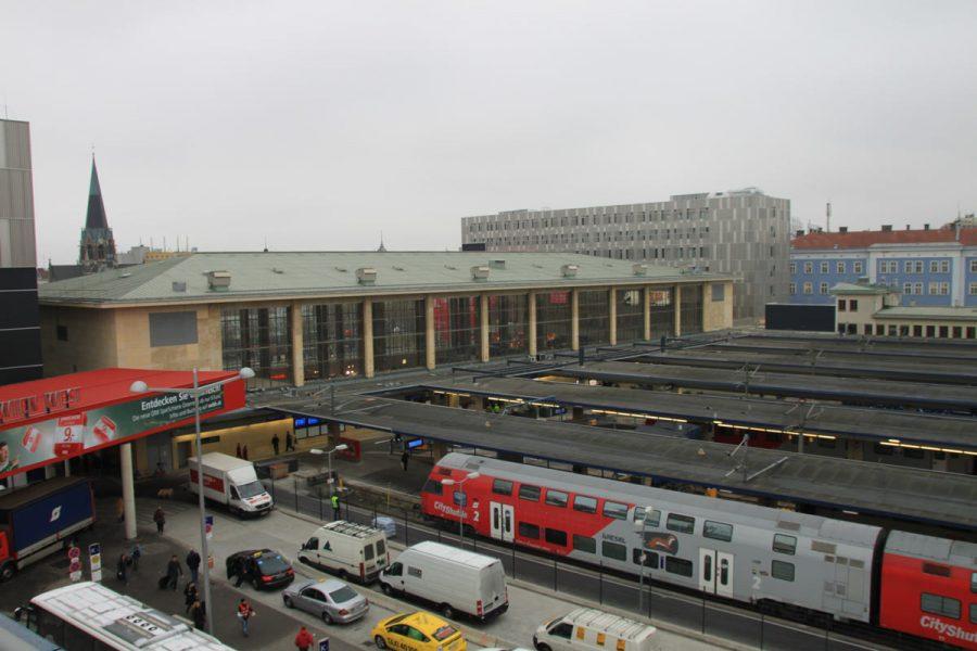 Foto der Eröffnung der Bahnhofcity Wien West