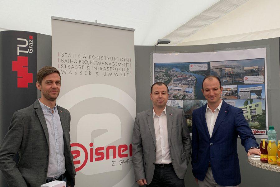 Foto des Teams der Eisner ZT bei der TU Graz