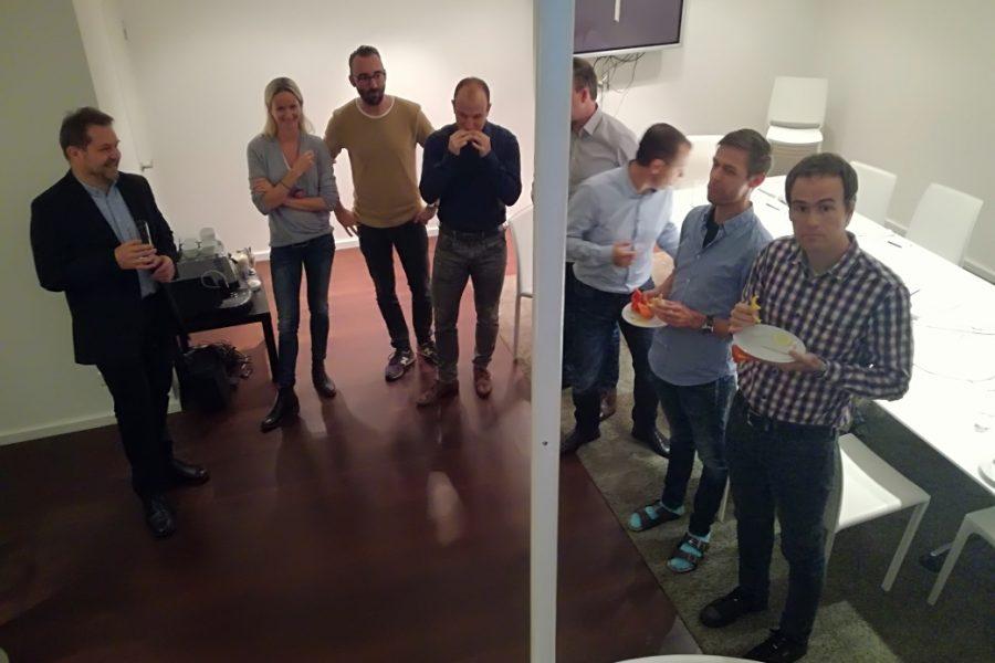 Foto vom Team beim Wirtschaftscoaching