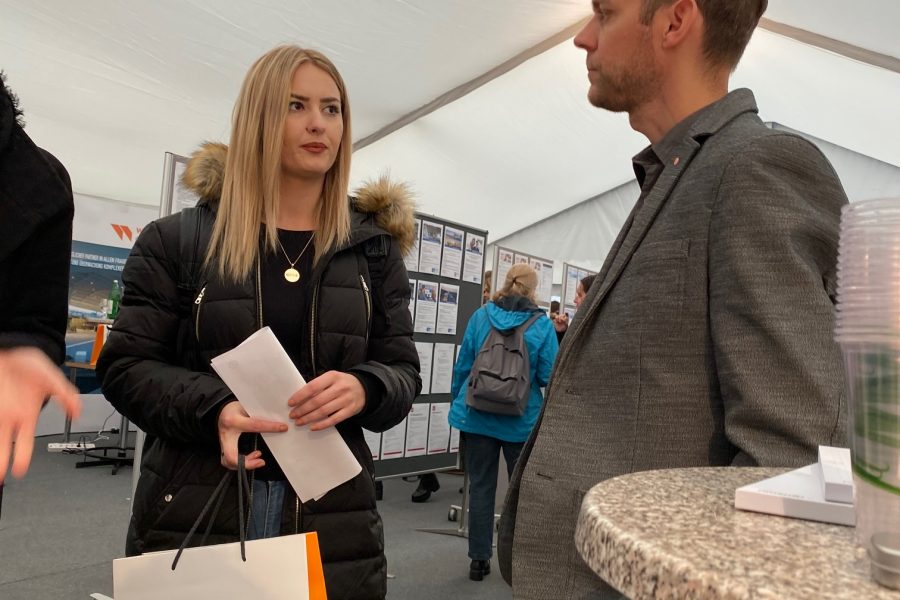 Eisner ZT bei der BIT-BAU 2019 an der TU Graz