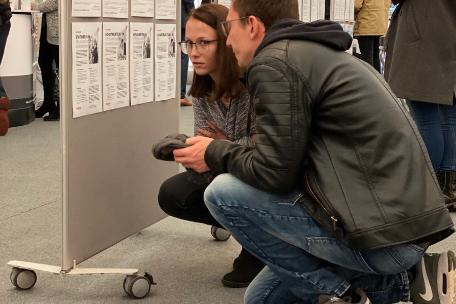 Eisner ZT bei der BIT-BAU 2019 an der TU Graz 1