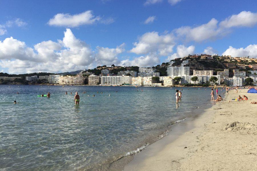 Foto des Meers beim Urlaub in Santa Ponsa