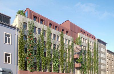 UNIQA LD Steiermark - Fassadenbegrünung und PV-Anlage 1