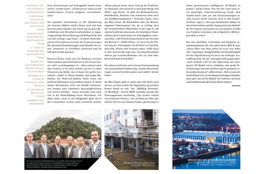 Eisner ZT GmbH im Spirit-Magazin 2