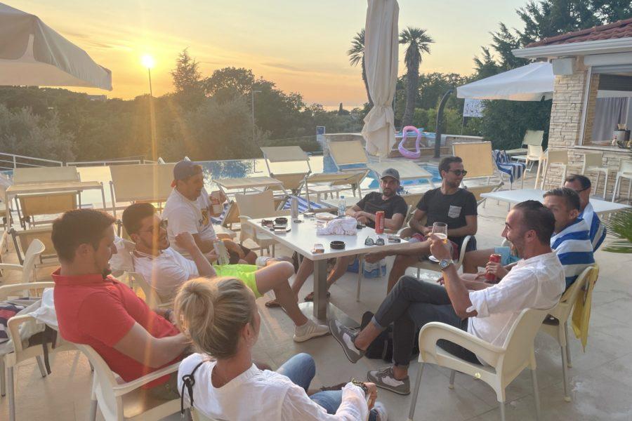 Betriebsausflug: Team Eisner Goes Istria 4