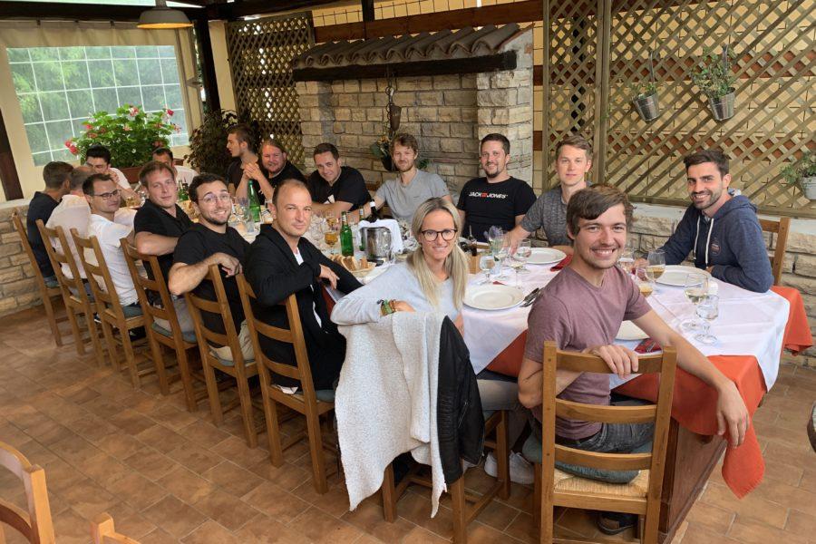 Betriebsausflug: Team Eisner Goes Istria 6